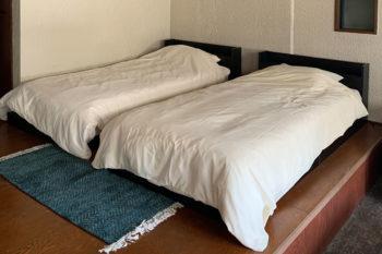 gomon no yado ベッド